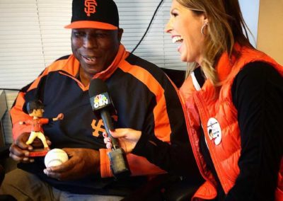 Hall-of-Famer Willie McCovey with AmyG