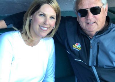 Amy G with Duane Kuiper