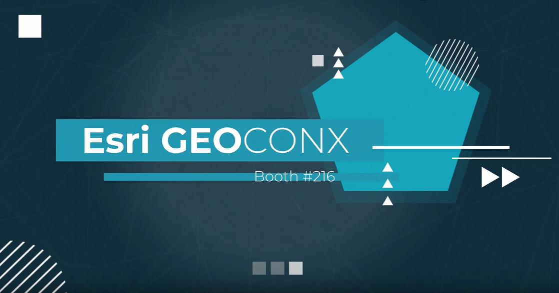 See Us at Esri GeoConX 2019