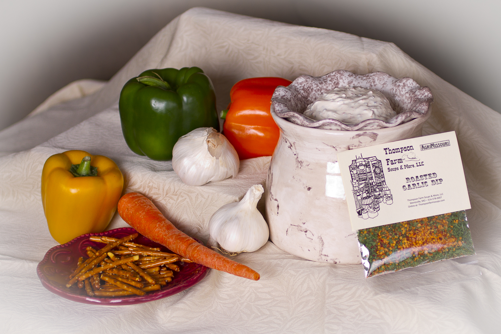 Roasted Garlic Dip Mix <br> ~ $4.50 ~
