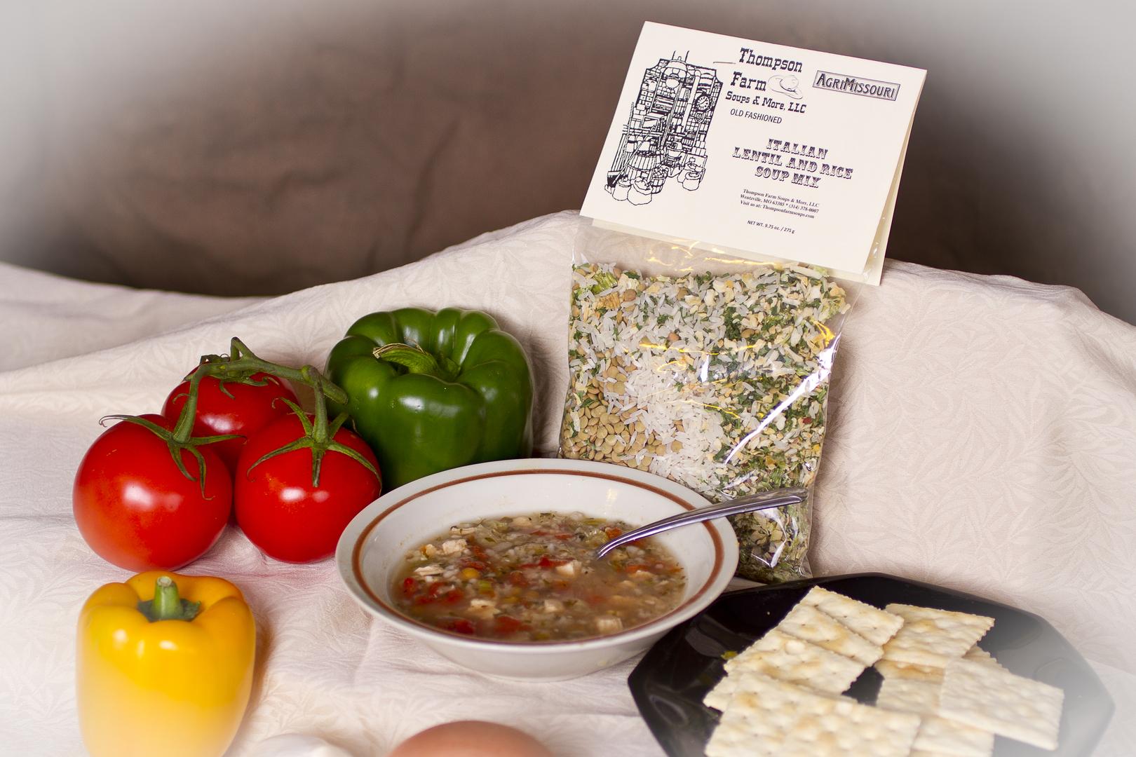 Italian Lentil & Rice Soup Mix <br> ~ $7.50 ~