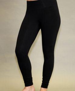 Organic Cotton Yoga Legging - Black by Blue Lotusyogawear