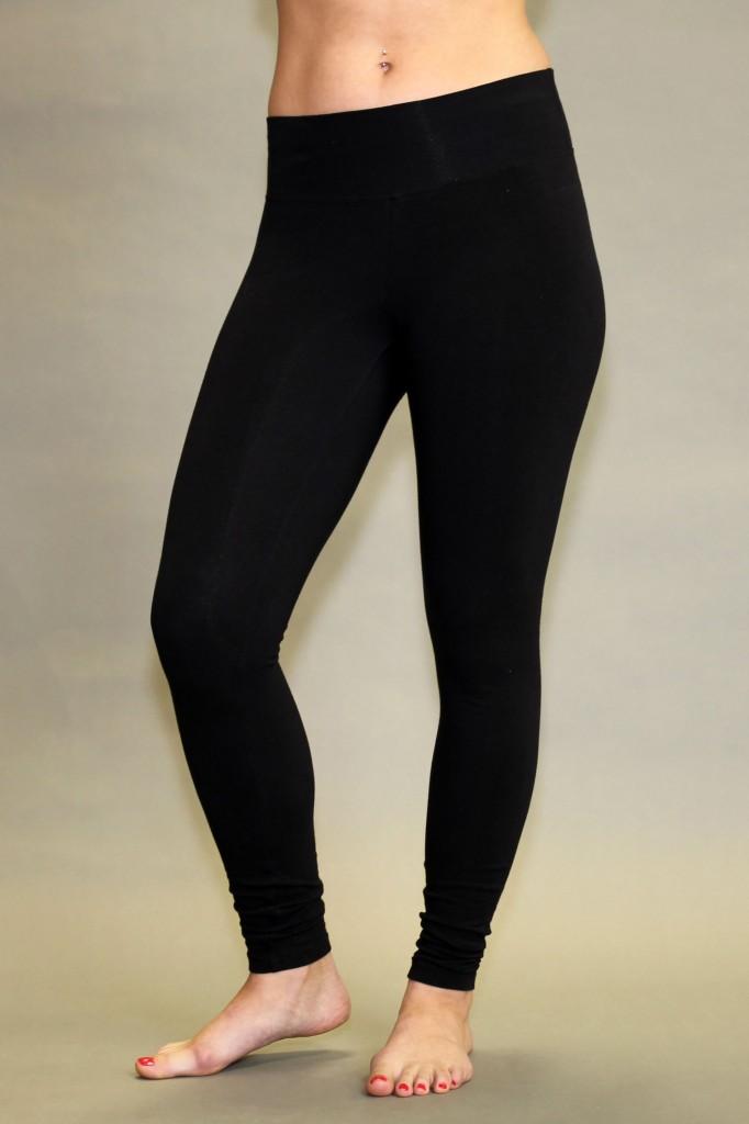 Organic Cotton Yoga Legging - Black by Blue Lotus Yogawear