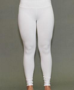 Organic Cotton Yoga Legging - Kundalini White