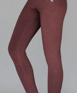 Organic Cotton Yoga Legging - Chocolate