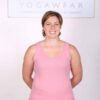 Solid Color Yoga Tank Top- Peach by Blue Lotus Yogawear