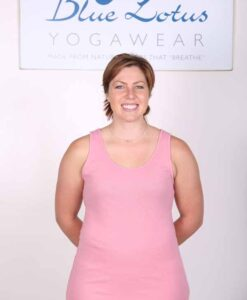 Solid Color Yoga Tank Top- Peach by Blue Lotus Yogawear