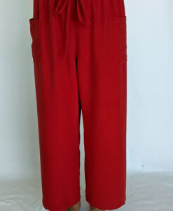 Raw Silk Capri Length Lounge Pant by Blue Lotus Yogawear