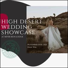 High Desert Wedding Showcase Graphic