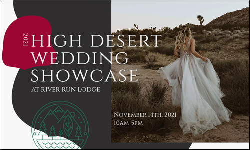 High Desert Wedding Showcase HP Banner