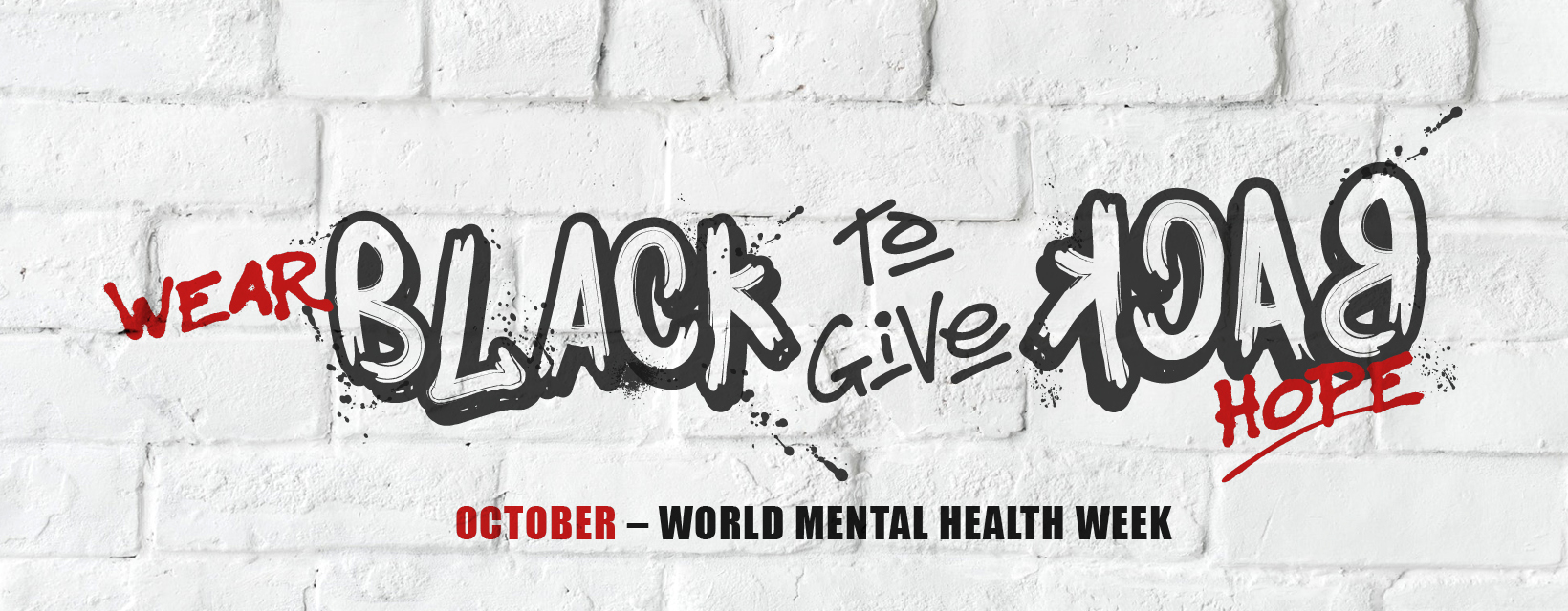Wear Black to Give Back Mental Health Week