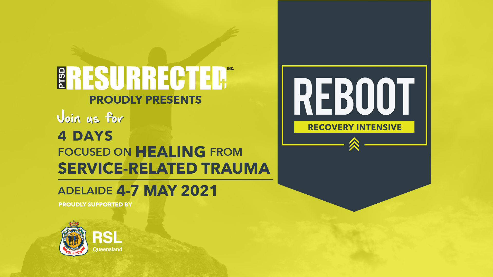 Reboot Course Adelaide South Australia