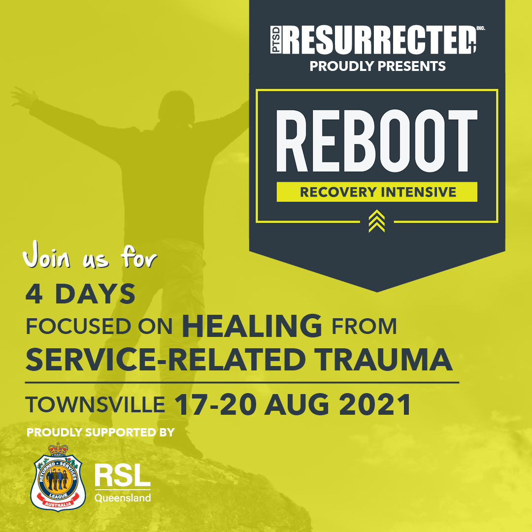 REBOOT Recovery Intensive Course Townsville