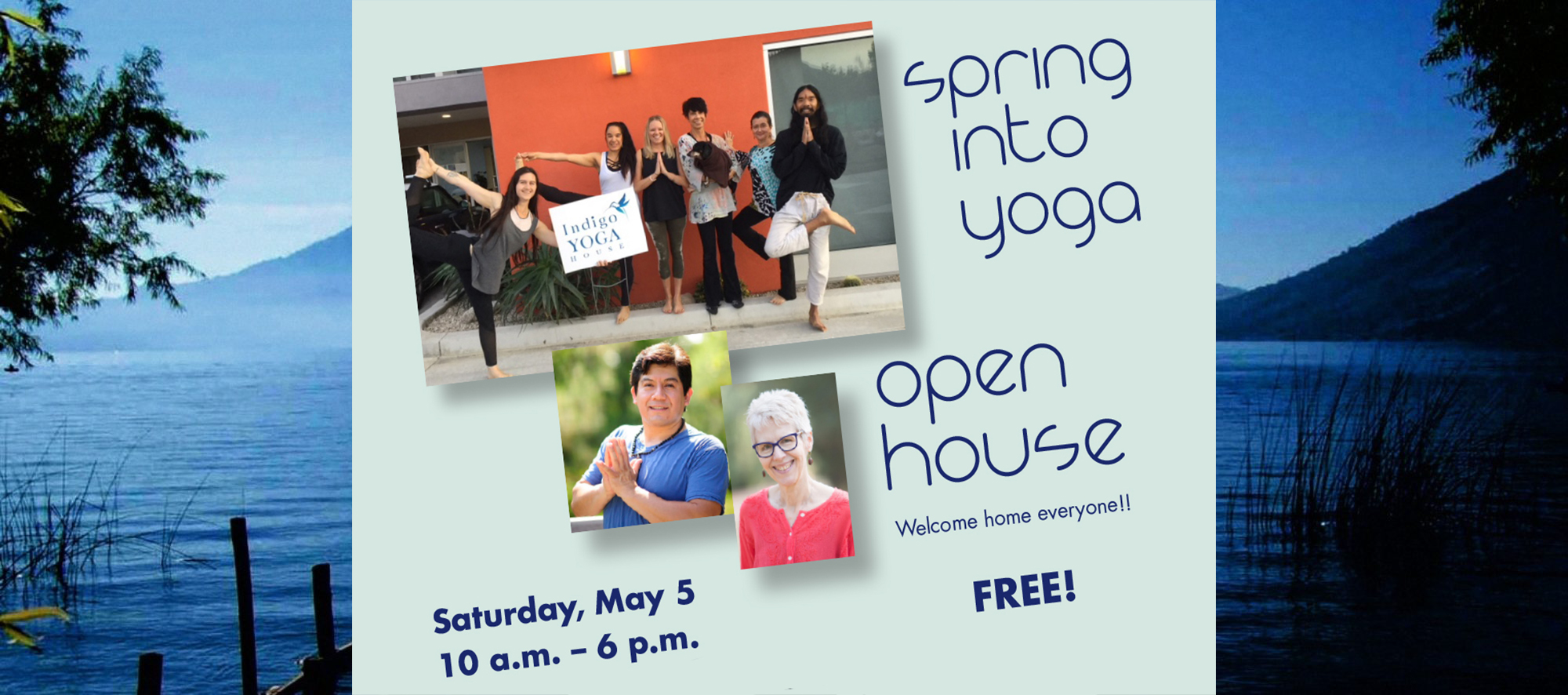 SPRING OPEN HOUSE BACKGROUND