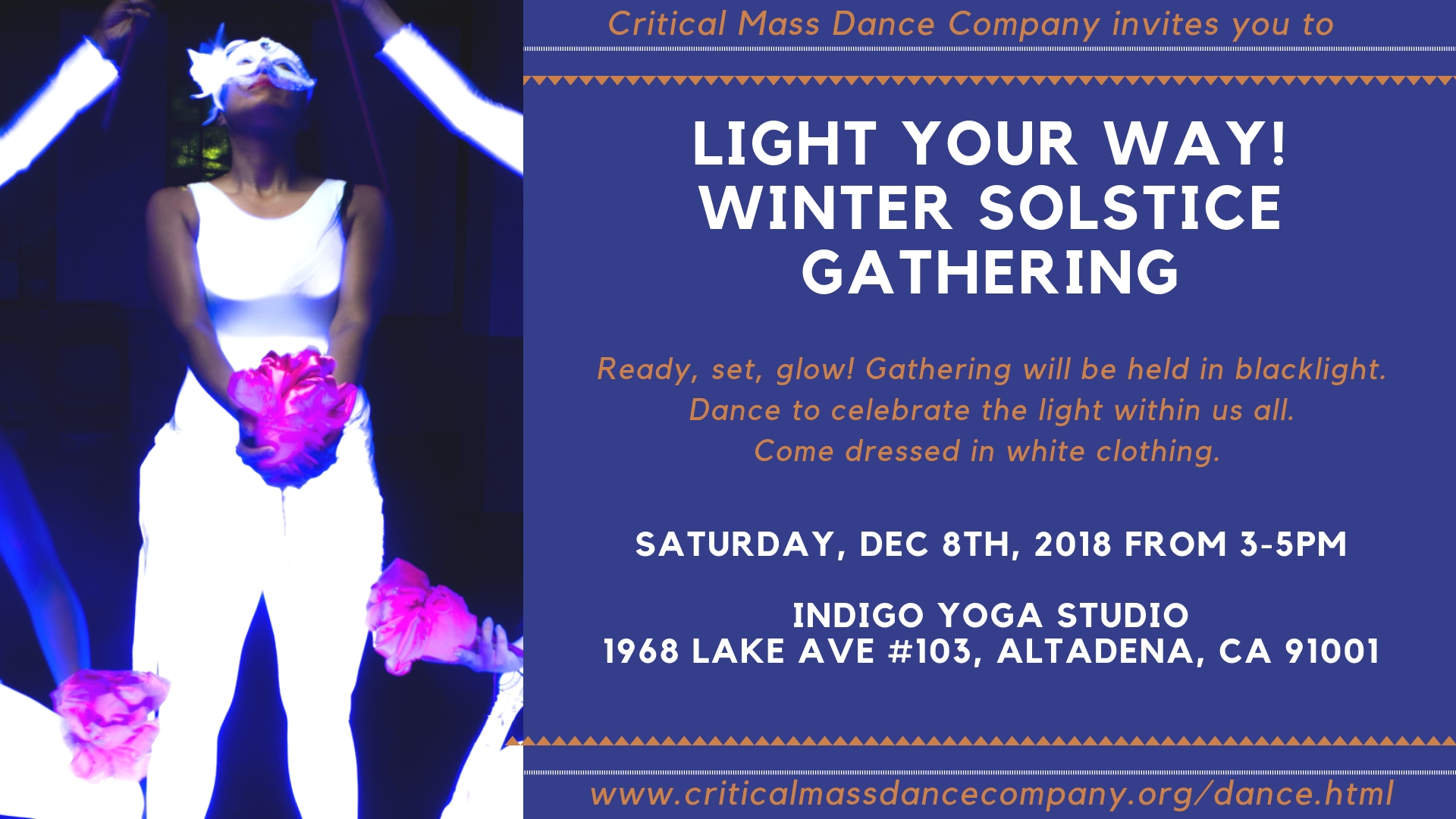 LIGHT YOUR WAY! DANCE FROM THE HEARTWINTER SOLSTICE GATHERING