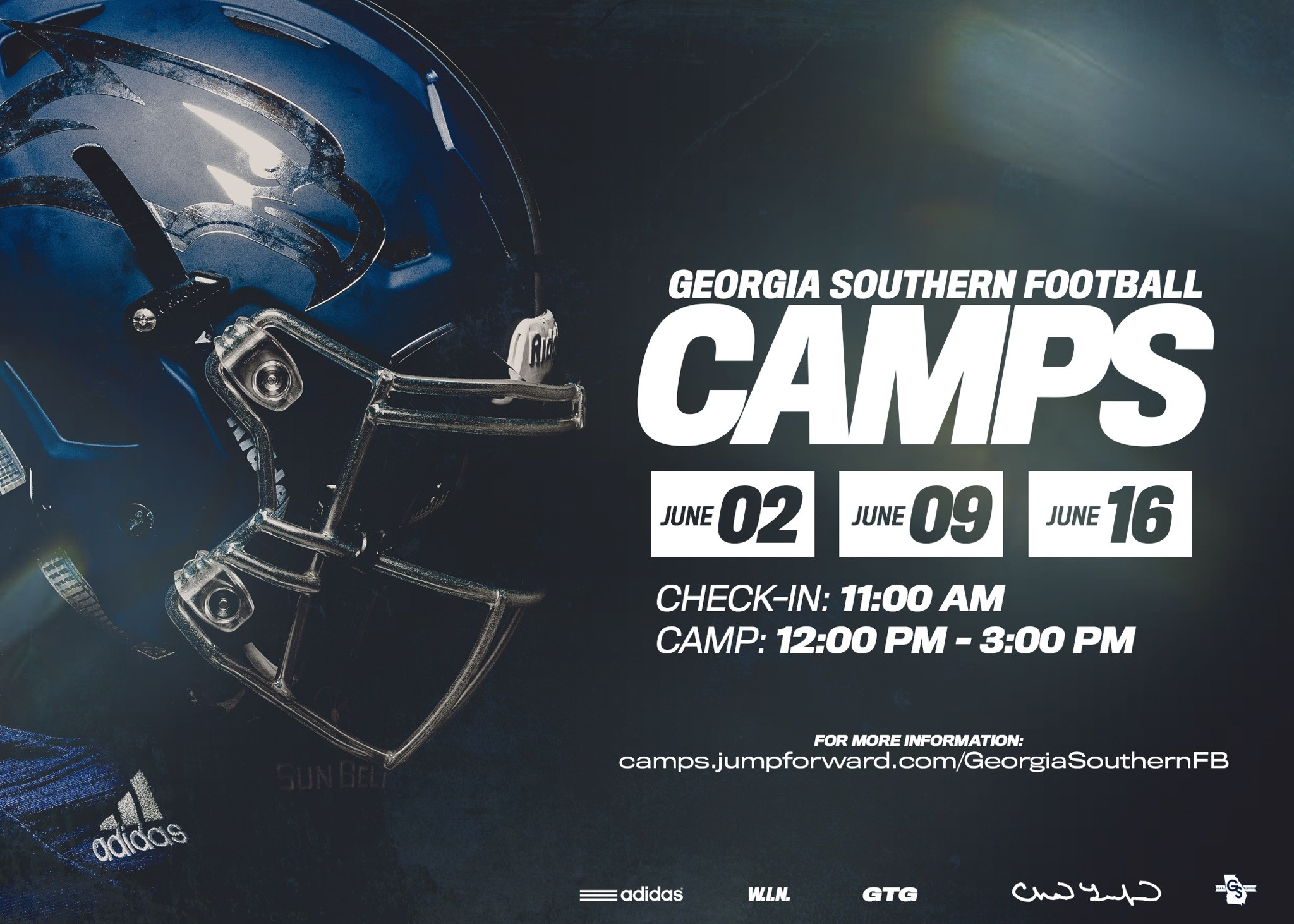 Georgia Southern Football Camps 2019