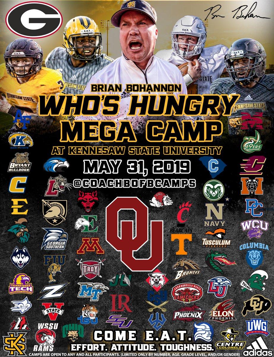 Who's Hungry Mega Camp