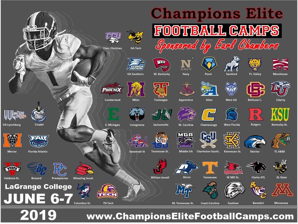 Champions Elite Football Camp 2019