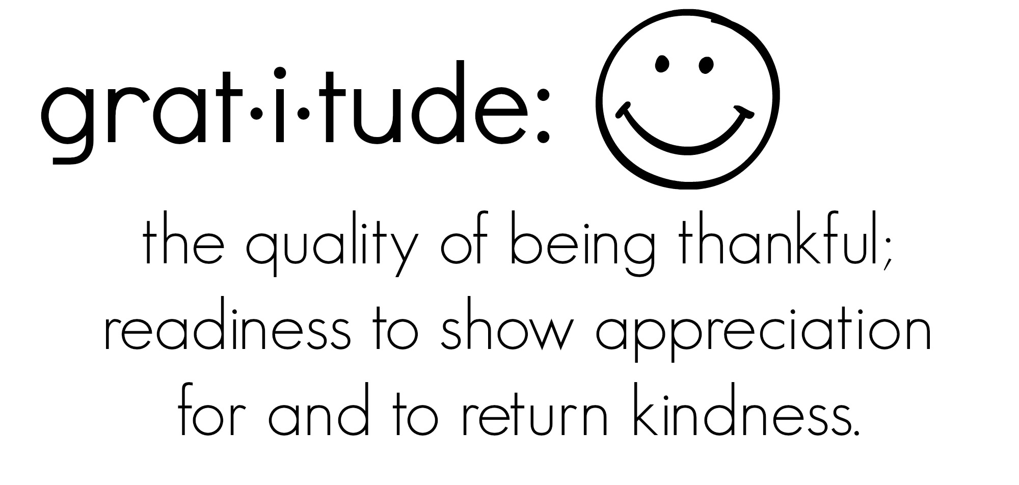 gratitude-definition