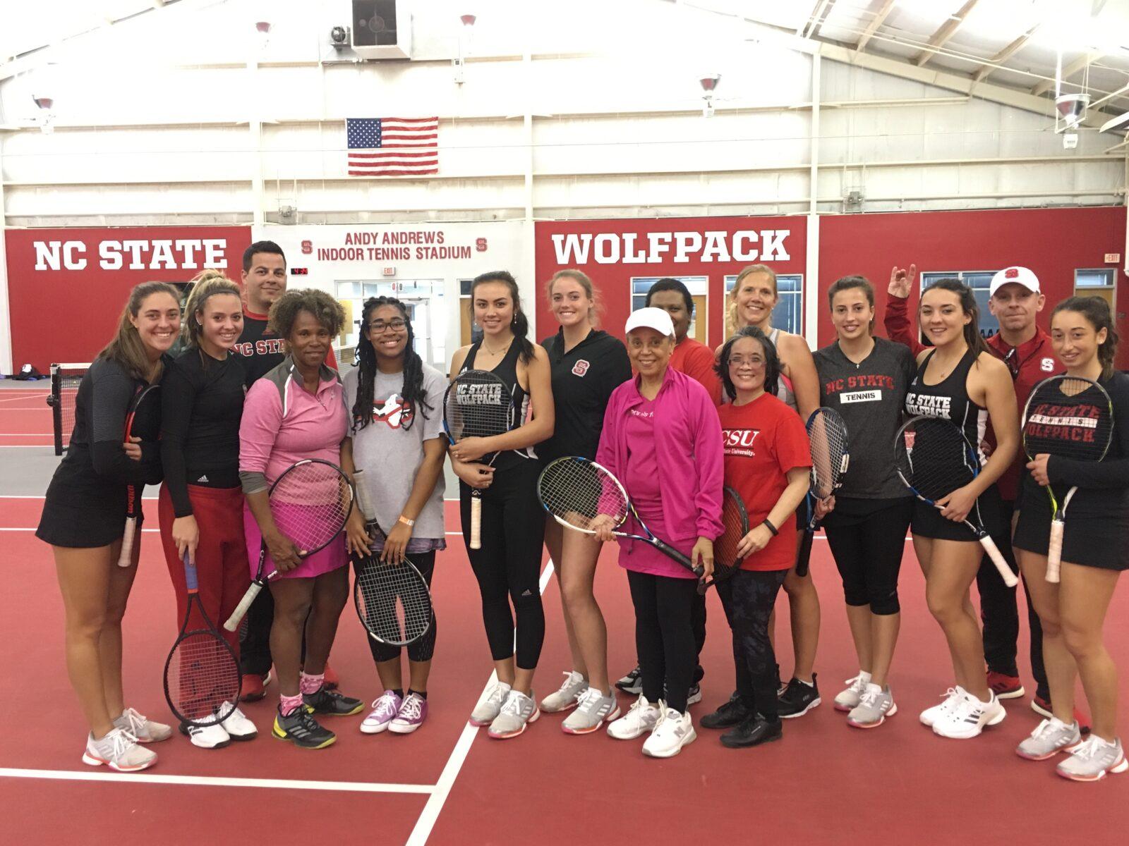 NCSU Womens Tennis Clinic