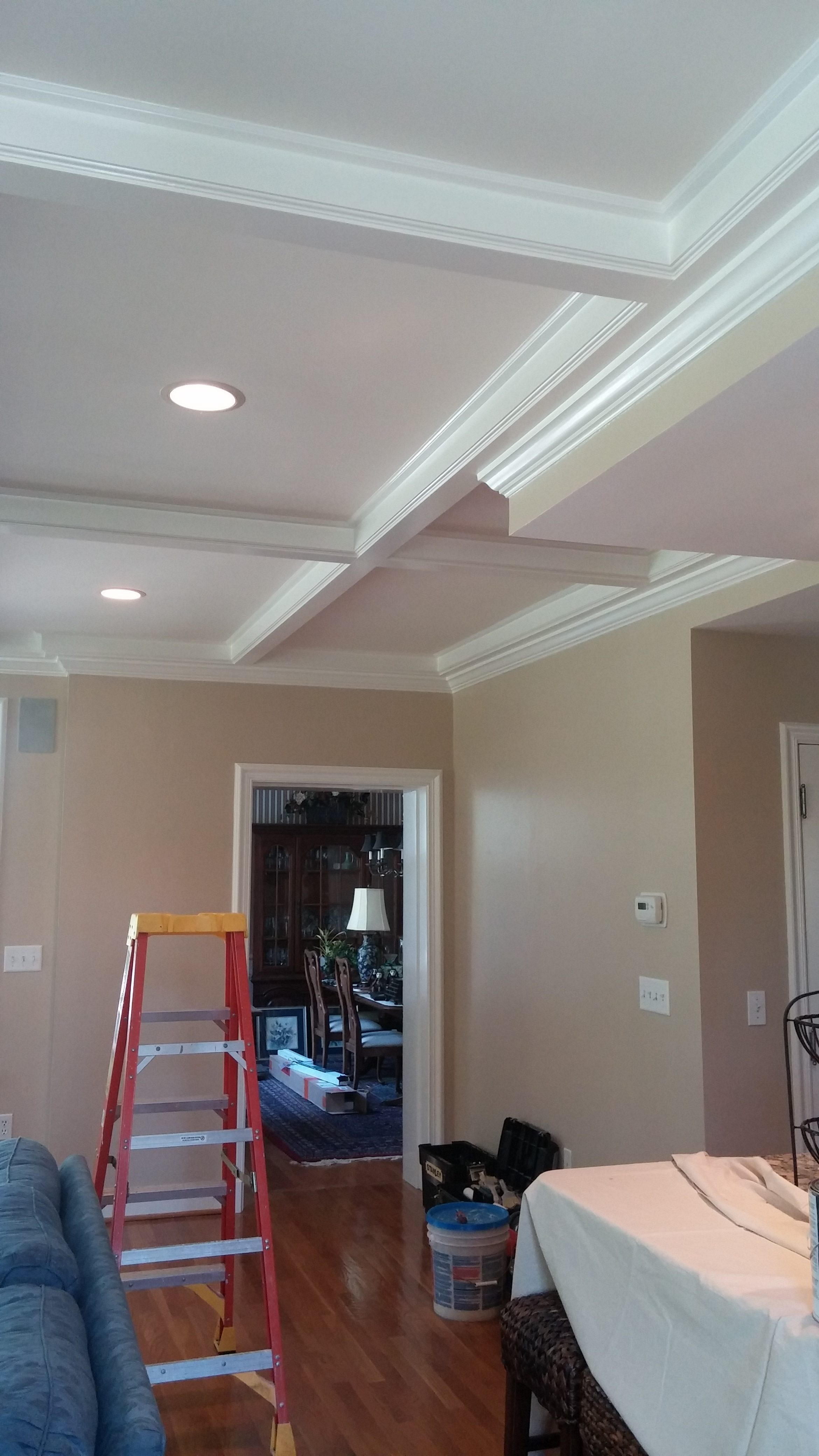 Ceiling Tray Interior Painting in Rocky River