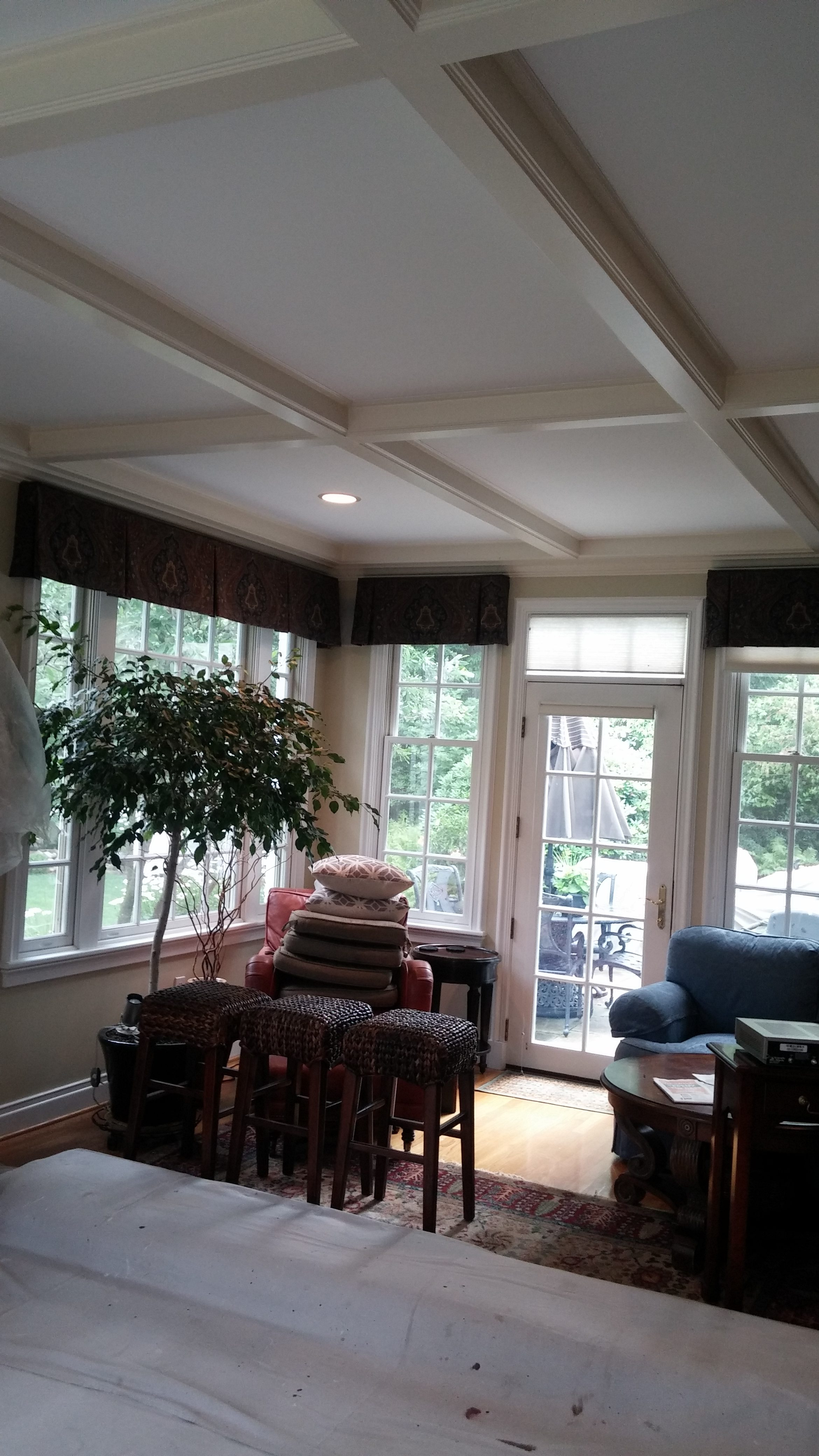 Ceiling Painting in a Rocky River Home