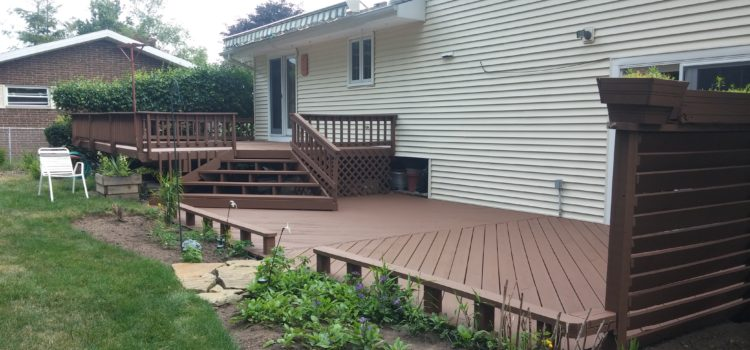 North Olmsted Deck Staining Contractor