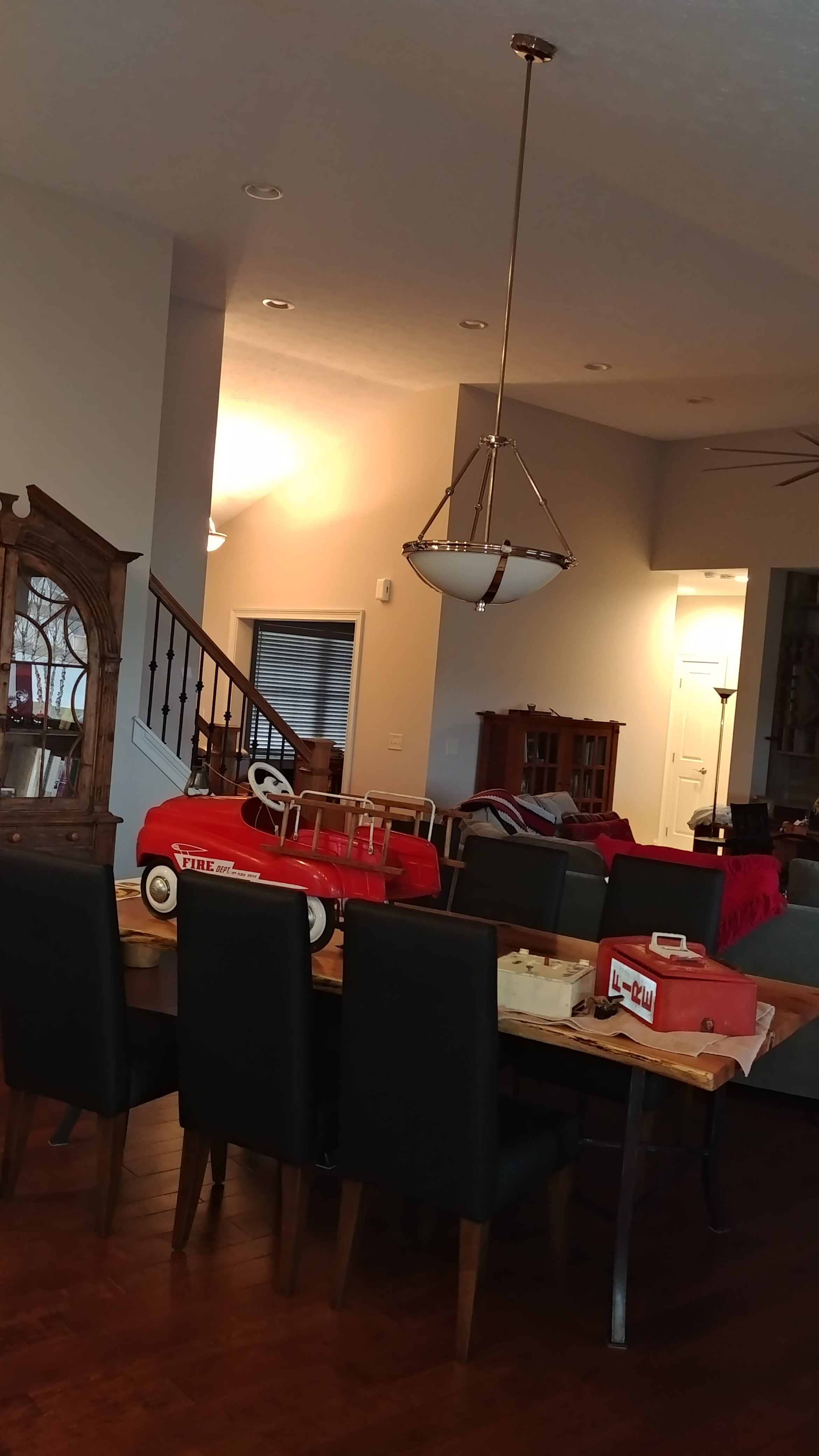 Before - Great Room Interior Painting Olmsted Falls