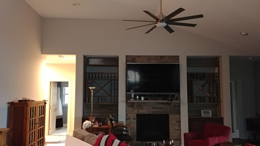 Before - Olmsted Falls Home Interior Painting