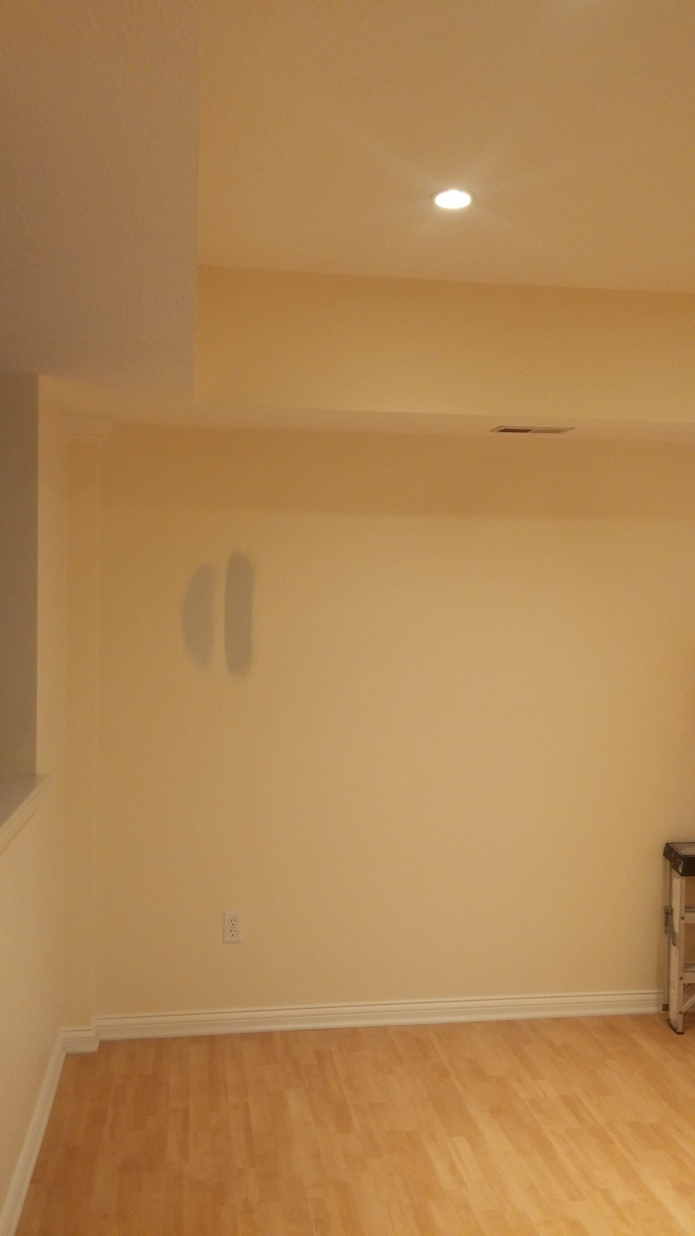 Before - Interior Painting of a Home in Westlake