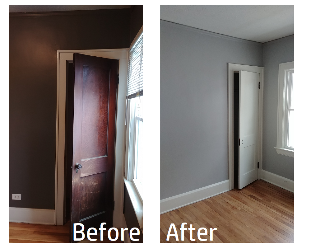 Door, Ceiling, Trim and Interior Wall Paint