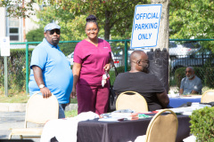 September 16, 2021: Sen. Kane joined state Rep. Brian Kirkland and Chester City officials for a Health Fair at City Hall.  Visitors were provided with flu shots as well as advice on health concerns, health insurance, personal safety and government services available to help keep people going strong into the fall.