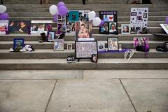 August 31, 2021: Senator Kane participates in International Overdose Awareness Day in Harrisburg.