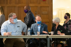 Senator Kane joined Senator Comitta and other Harrisburg colleagues at West Chester University for a roundtable on hunger on college campuses