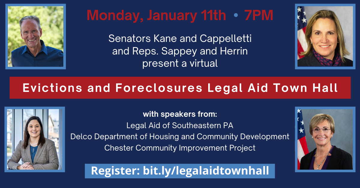 Evictions and Forclosures Legal Aid Town Hall