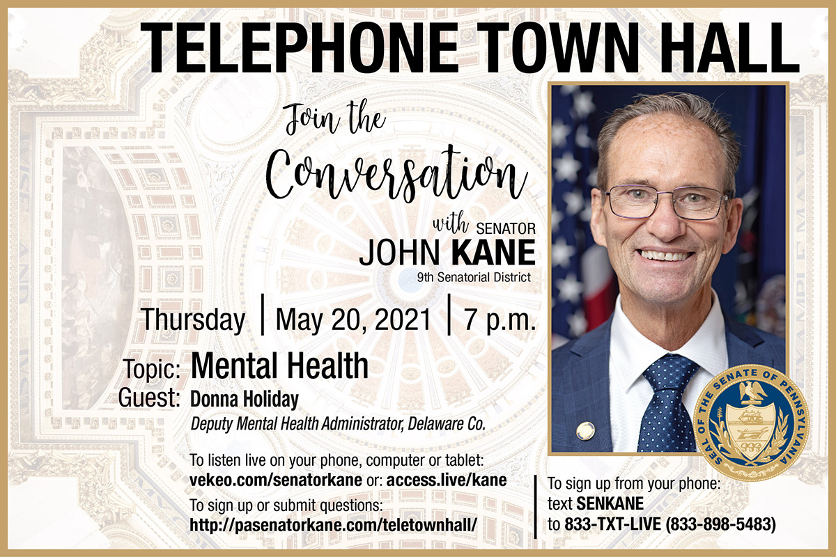Telephone Town Hall - May 20, 2021