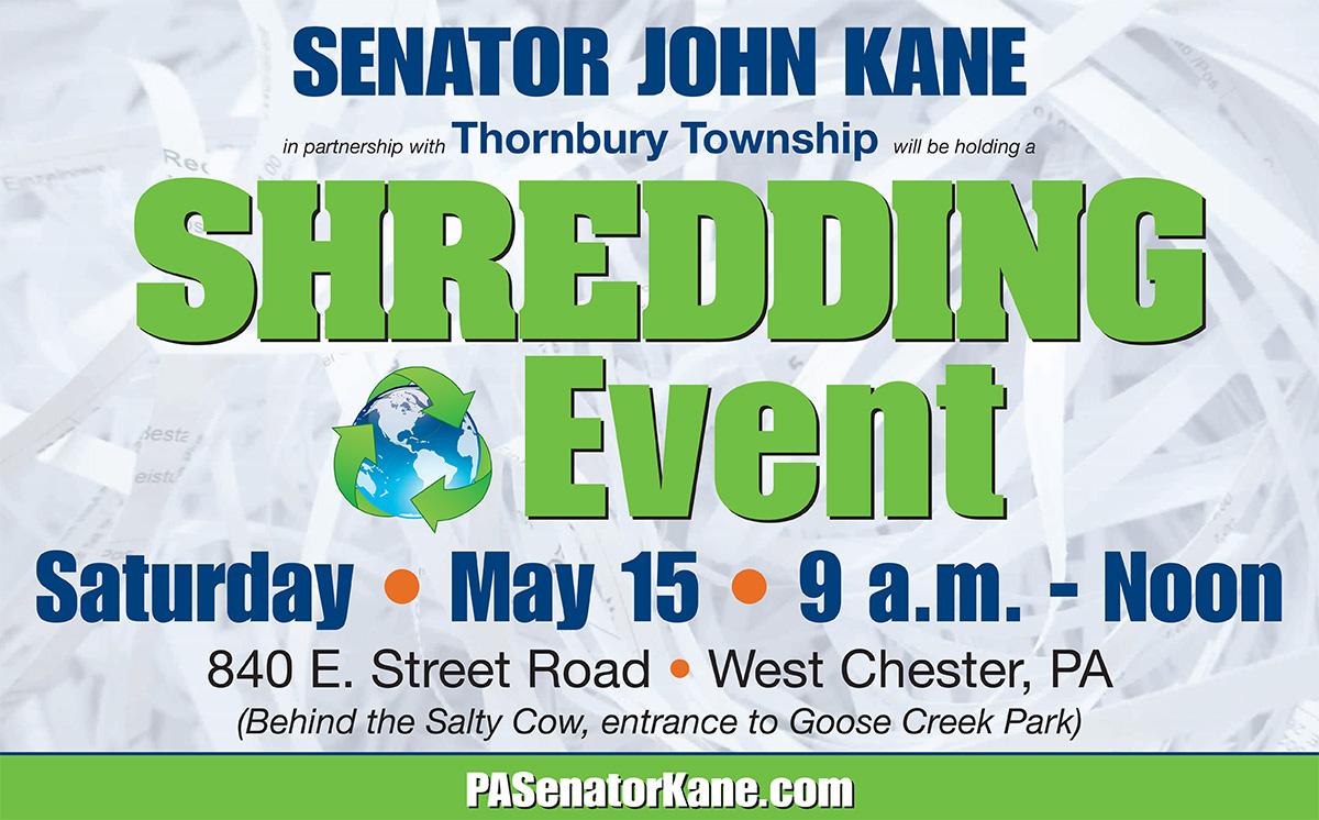 Shredding Event - May 15, 2021