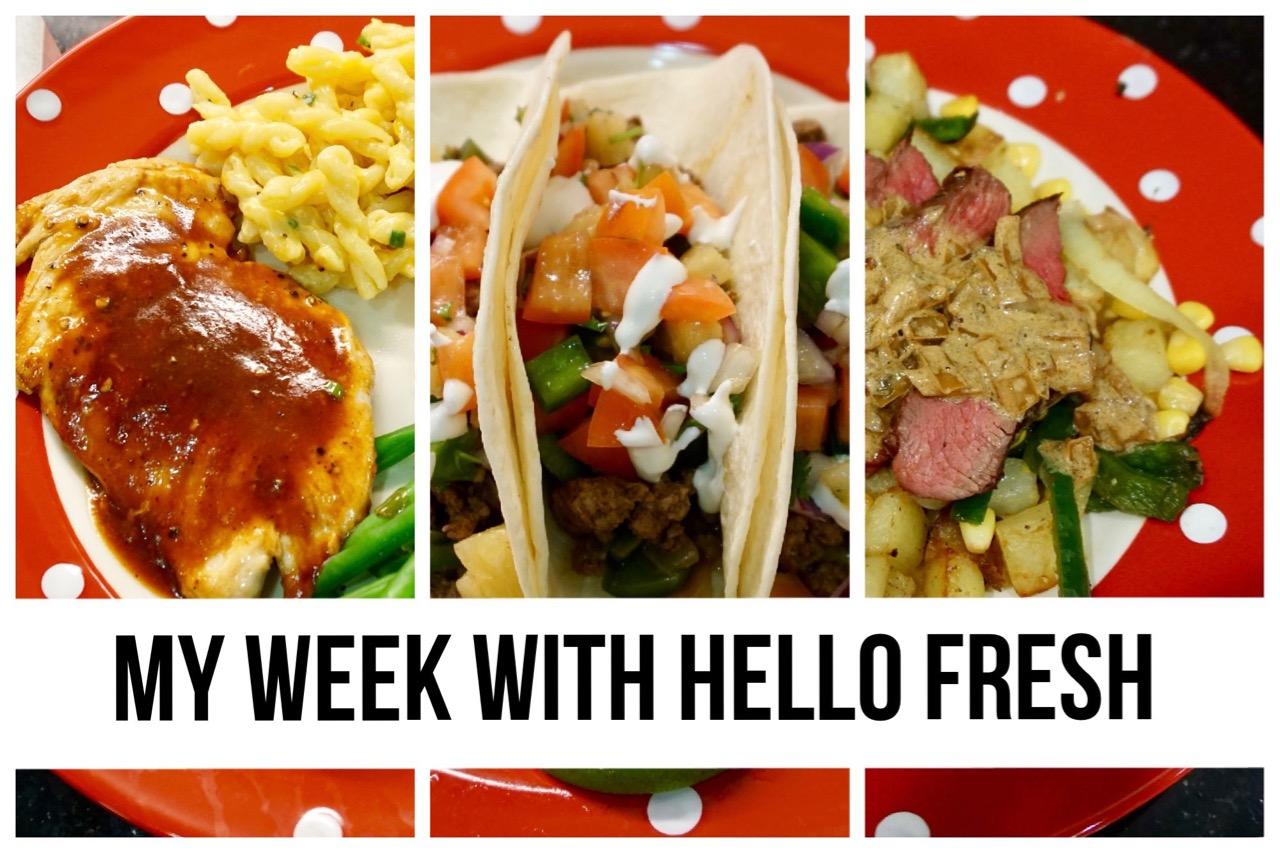 My Week with Hello Fresh