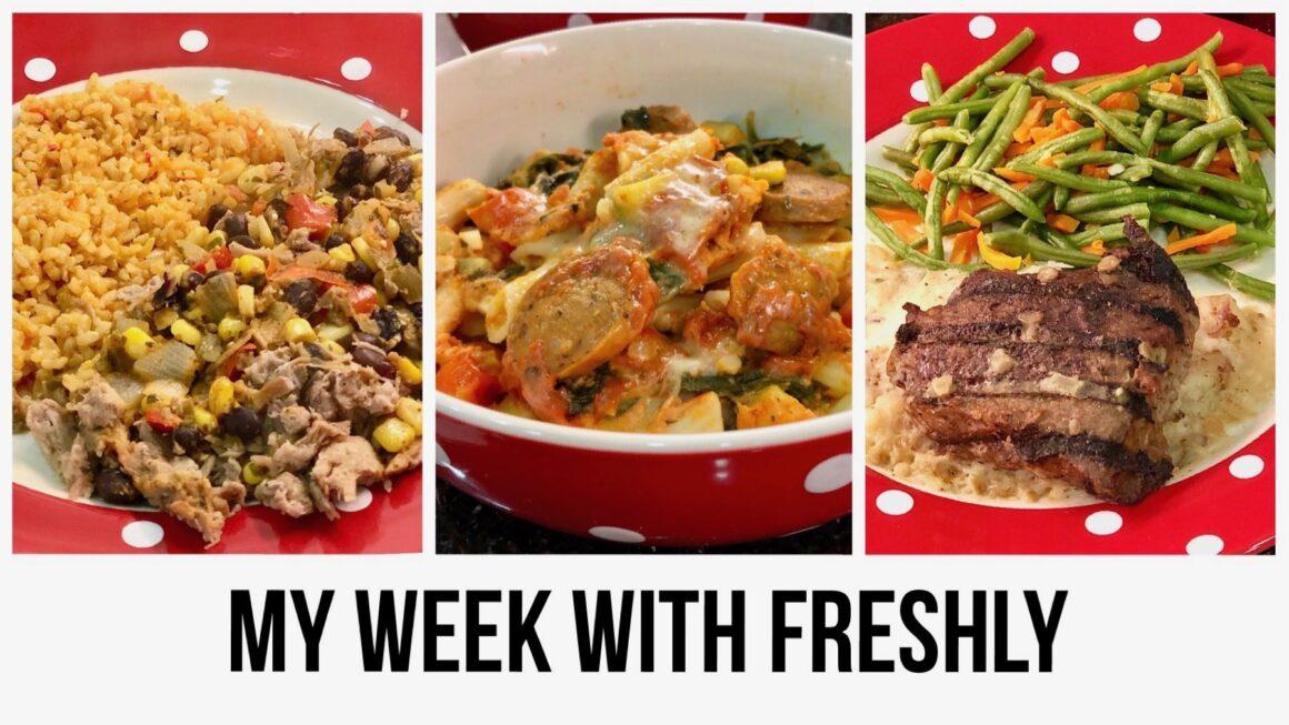My Week with Freshly