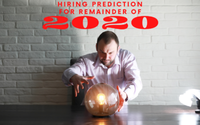 Hiring Prediction for the Remainder of 2020