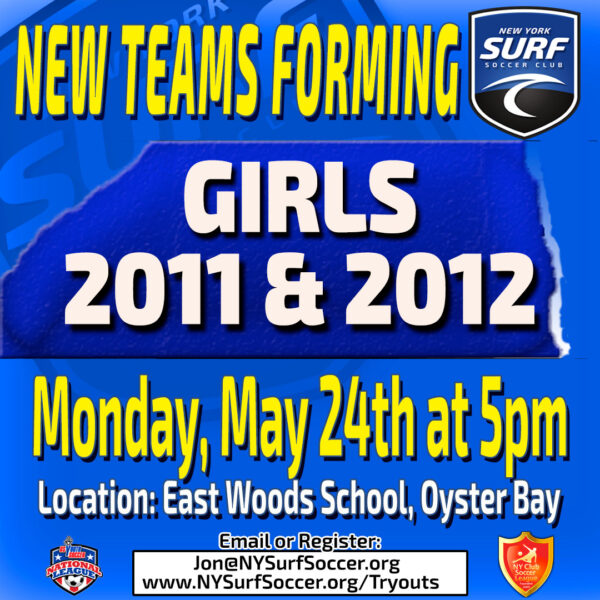 Girls 2011 & 2012 New Teams Forming for the 2021-22 Season