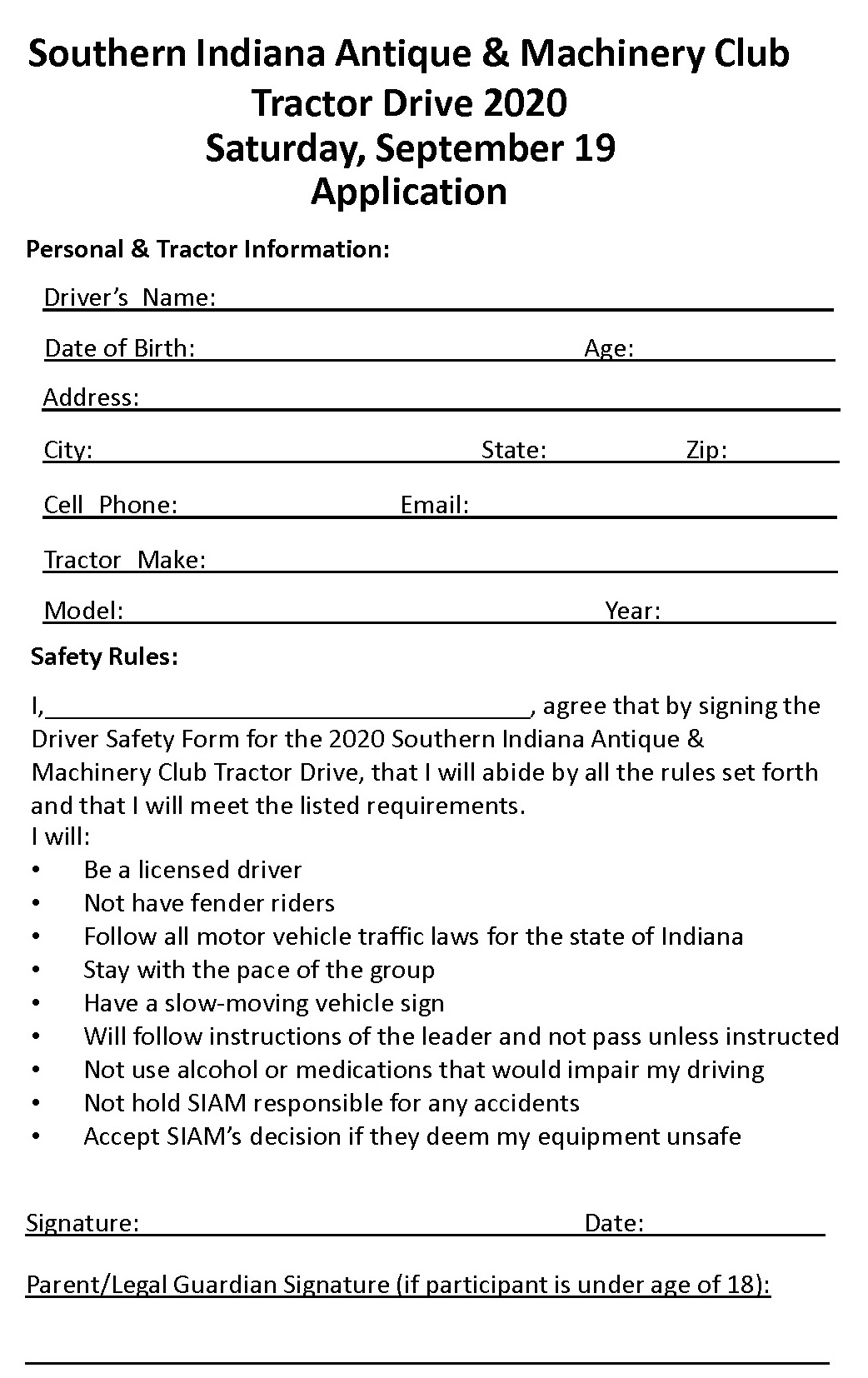 Driver Application 2020 one per page for website