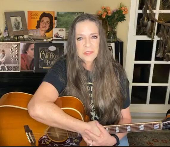 carlene carter country singer from famous Cash Carter family