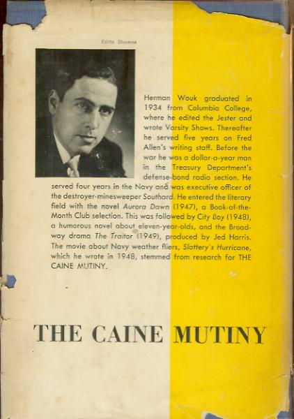 herman wouk and the caine mutiny