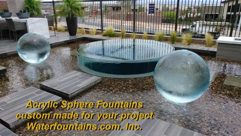 Main 003 Acrylic Sphere Fountain
