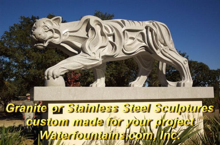 Main 004 Granite Sculpture Puma