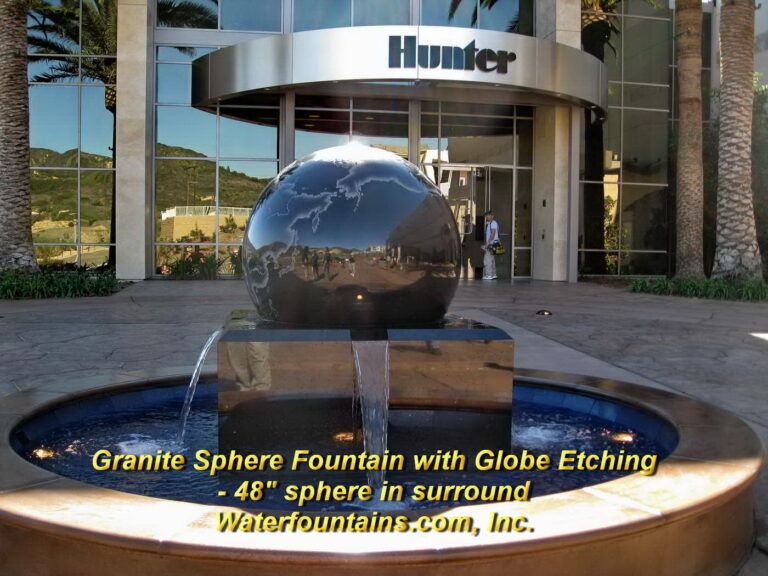Main 005 Granite Sphere Fountain