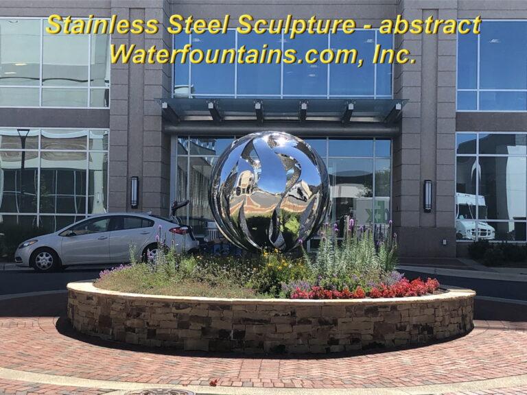 Main 008 Stainless Steel Sculpture sphere