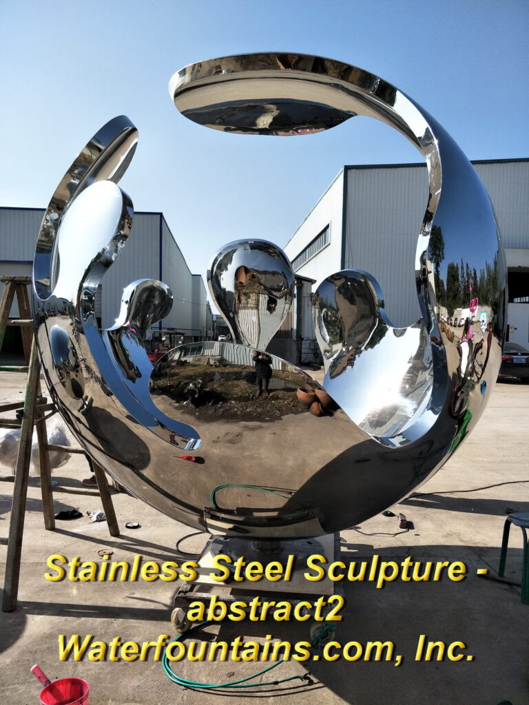 Main 012 Stainless Steel Sculpture abstract