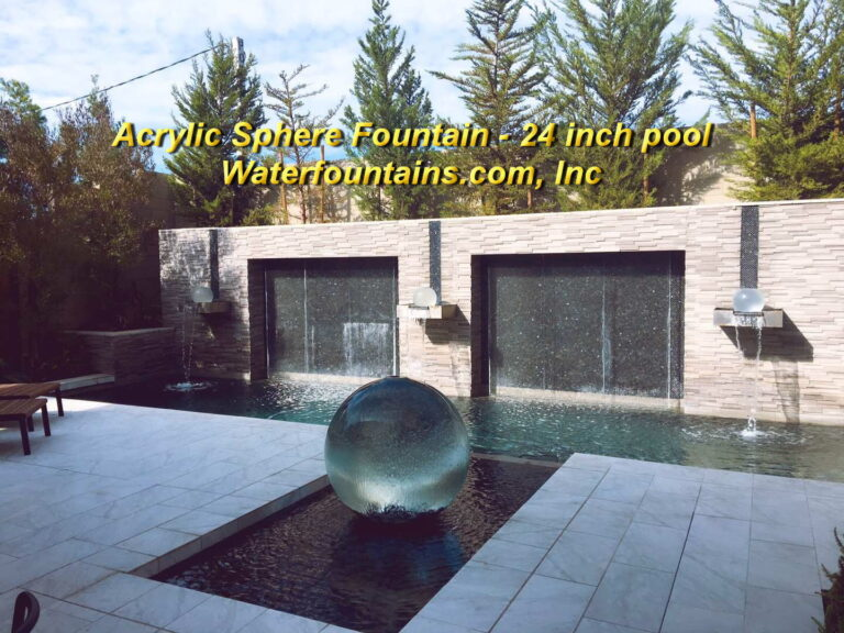 Main 015 Acrylic Sphere Fountain